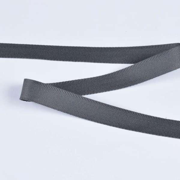 Стрічка брючна сіра 15мм 14В13Г27