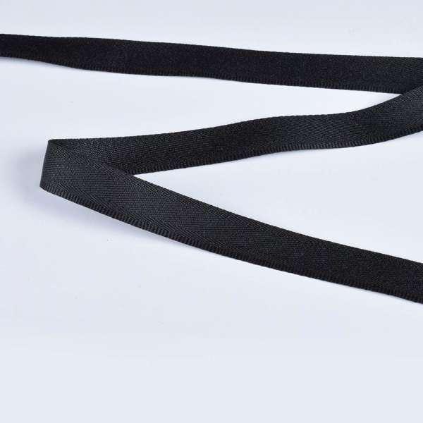 Стрічка брючна чорна 15мм 14В13Г27