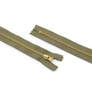 Молния металл М-17,5 Тип-3 неразъемная х/б в ассортименте