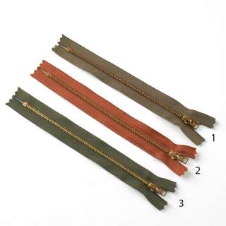 Молния металл М-18 Тип-3 неразъемная х/б в ассортименте