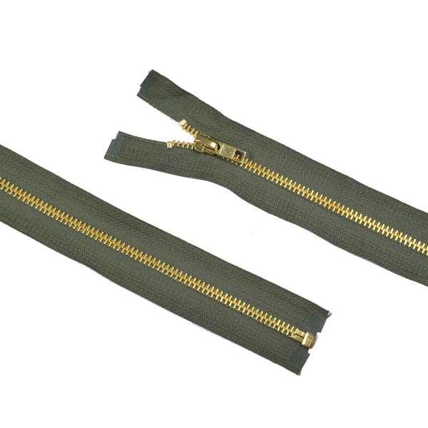 Молния металл М-50 Тип-7 разъемная х/б оливковая