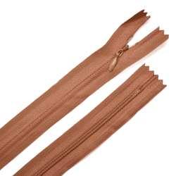 Молния потайная М-15 Тип-3 неразъемная х/б коричнево-терракотовая