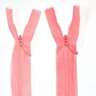 Молния потайная М-20 Тип-3 неразъемная 1 бегунок нейлон розовая