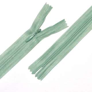Молния потайная М-20 Тип-3 неразъемная 1 бегунок нейлон оливково-серая
