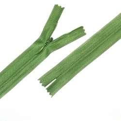 Молния потайная М-20 Тип-3 неразъемная нейлон зеленая