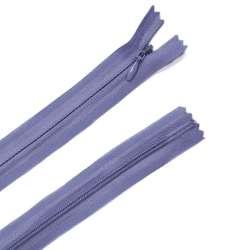 Молния потайная М-24 Тип-3 неразъемная х/б сине-фиолетовая