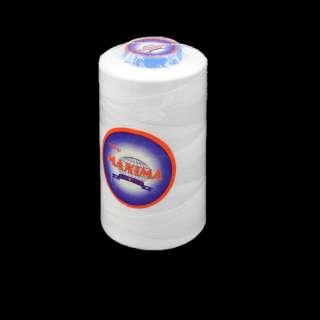 Нитка MAXIMA 5000 ярдов №120 бобина белая