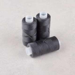 Нитки для джинсов 20/3 Омега-36 (150м) цвет 374 серые темные