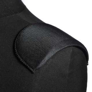 Плечевые накладки поролон обшитые трикотажем 7х90х155 черные