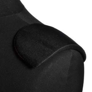 Плечевые накладки поролон обшитые трикотажем черные