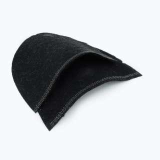 Плечевые накладки для трикотажных изделий из нетканного материала 3 слоя черные