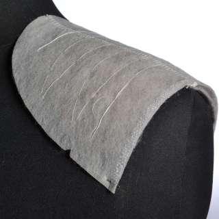 Плечевые накладки для трикотажных изделий из нетканного материала 3 слоя серые