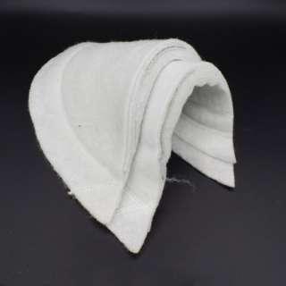 Плечевые накладки нетканный материал и бортовка 9 слоев 17х160х310 белые