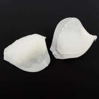 Плечевые накладки нетканный материал 152х165х60 белые (4266)