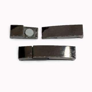 Пряжка металл разъемная магнитная 10мм 60х13мм никельтемный
