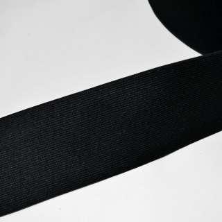 резинка  7 см черная