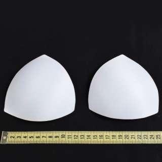 Чашки для белья размер 0 форма треугольная белые