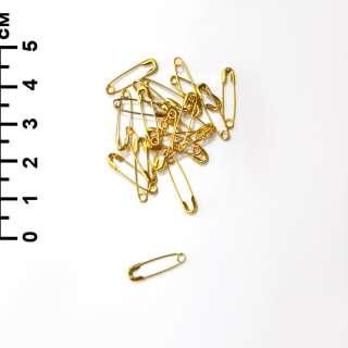 Булавки английская 20 мм 1/10 золотистая