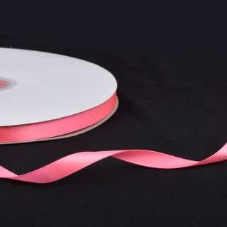 Лента атласная 10мм розовая неон А2-03-035 на метраж (бобина 100яр/158г)