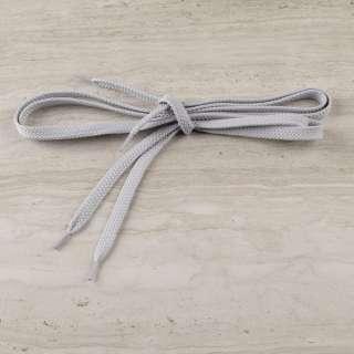 Шнурки обувные 1 пара 100см серые