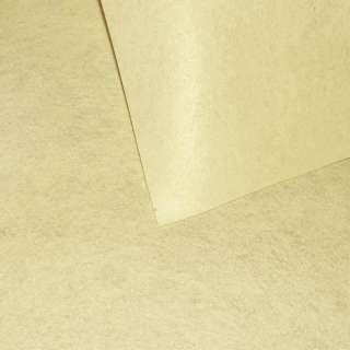 Фетр лист ванильный (0,9мм) 21х30см