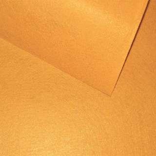 Фетр лист горчичный (0,9мм) 21х30см