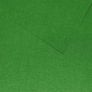 Фетр лист зеленый лесной (0,9мм) 21х30см