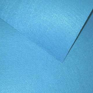 Фетр лист голубой яркий (0,9мм) 21х30см