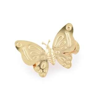 """прищепка для штор """"бабочка"""" золото"""