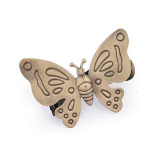 """прищепка для штор """"бабочка"""" бронзов."""