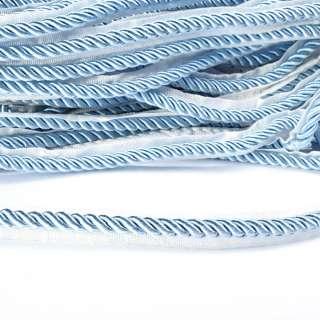 Кант-шнур вшивной 9мм тесьма 15мм голубой