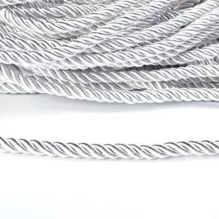 Шнур витой 9мм белый