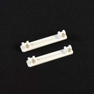 Заглушка пластиковая к алюминиевому карнизу 2-ряд (пара)